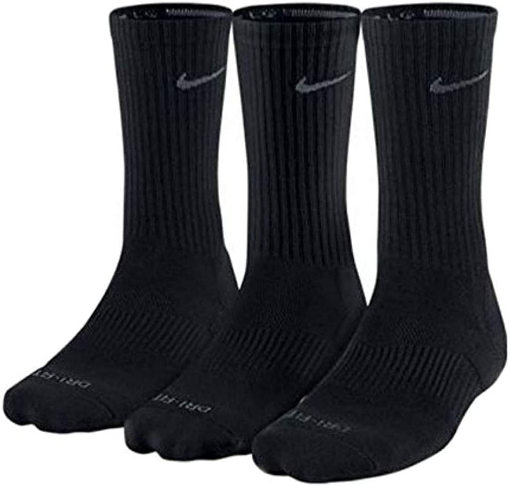 Nike mens 3 Pair Pack Dri-fit Cushion Crew