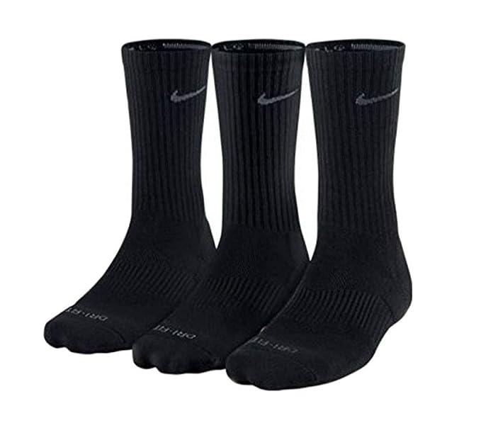 Amazon.com: Nike Unisex Dry Cushion Crew Training Sock (3 ...