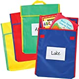 Large Book Pouches - Primary Multicolor - Set Of 36