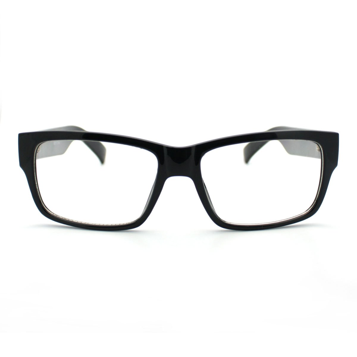 Simple and Clean Classic Plasitc Narrow Lens Optical Glasses Frame
