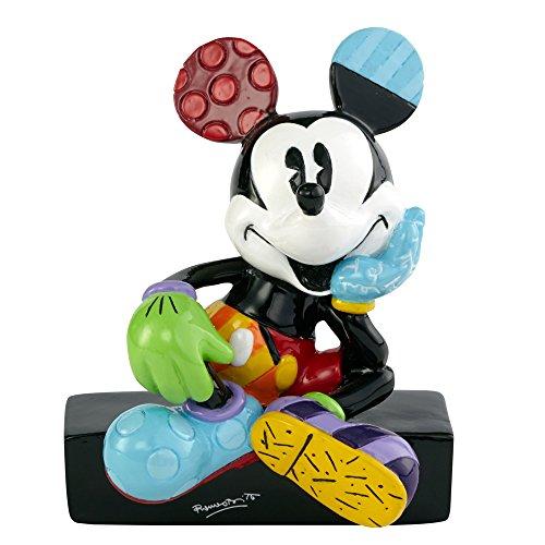 Enesco Disney by Britto Mickey Mouse Mini Figurine, 3-Inch