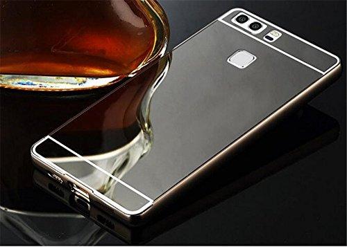 Aluminum Metal Bumper Frame Case for HUAWEI P9 (Gray) - 1