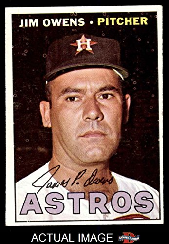 1967 Topps Baseball 582 Jim Owens High Number Houston Astros Excellent ()