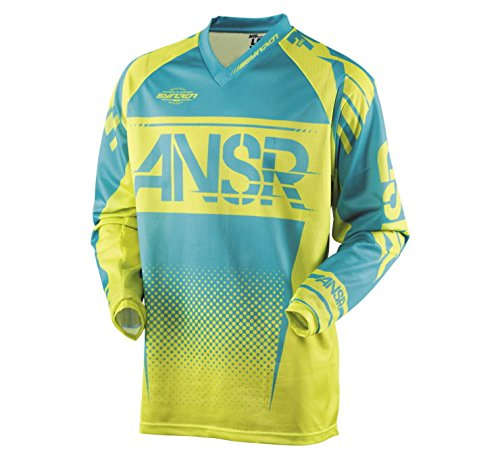Answer Racing Youth A17.5 Syncron Air Jersey Yellow/Blue 2XL 0409-2906-4754