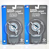 2-pack Florida Marlins LED Nightlight