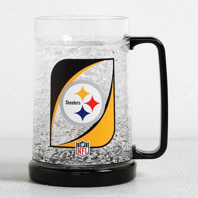 NFL 38 Oz. Beer Glass NFL Team: Pittsburgh Steelers by Duck House
