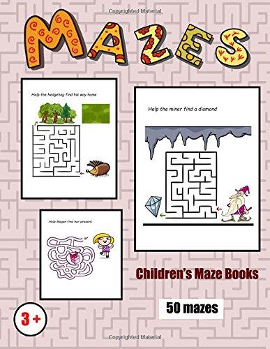 Children's Maze Books: 50 black and white maze challenges for preschool children (Volume 2) pdf epub