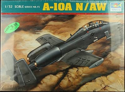 Trumpeter 1:32 A-10A N/AW Plastic Aircraft Model Kit #02215