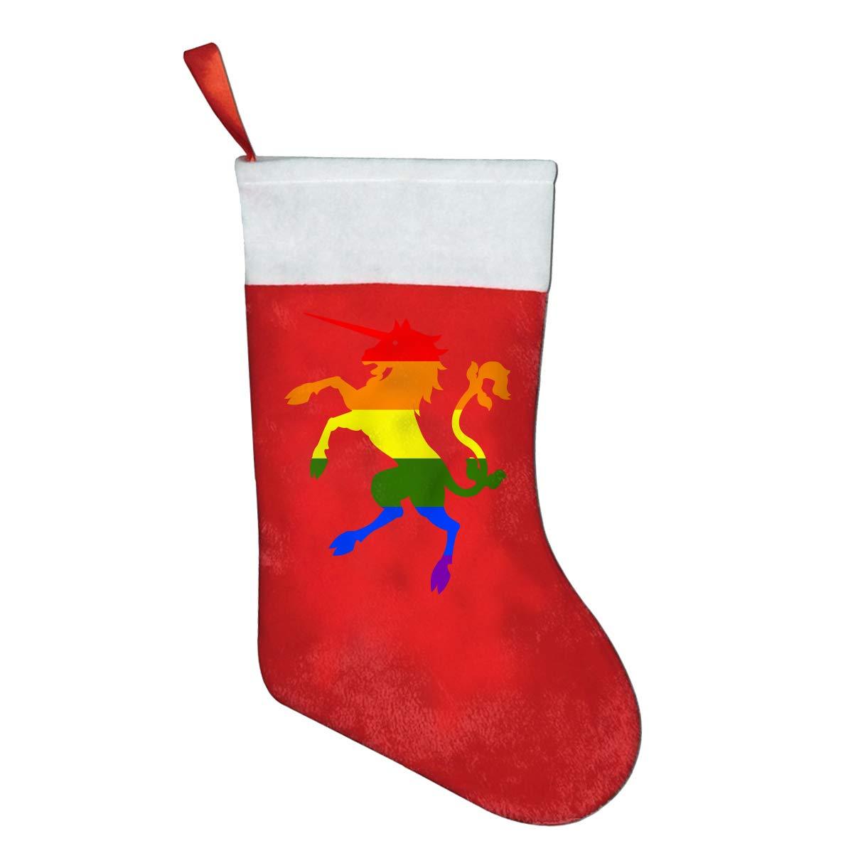 YISHOW Unicorn Animal Personalized Christmas Stocking