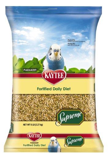 KayteeSupreme Fortified Daily Blend Parakeet Food, 5-Pound, My Pet Supplies