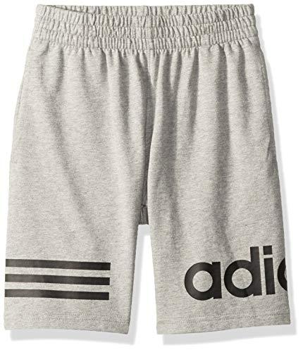 Adidas Boys' Big Athletic Basketball Short, ft Gry Heather, Medium ()