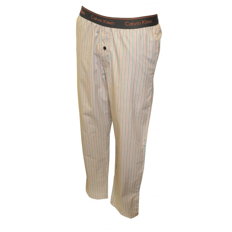 Parte Inferior Del Pijama Calvin Klein Mar Raya Tejida Masculino, Rojo/gris X-grande: Amazon.es: Ropa y accesorios