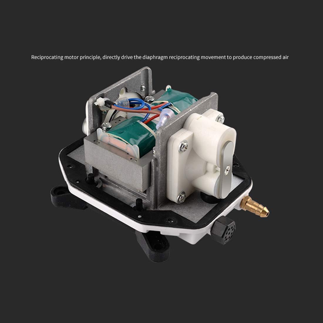 WEATLY Pompa di Ossigeno Aumentata Resistente della Lega di di di Alluminio 25W per Il carro Armato di Pesce, Stagno, Coltura idroponica (Dimensione   Version B) 6ef0e9