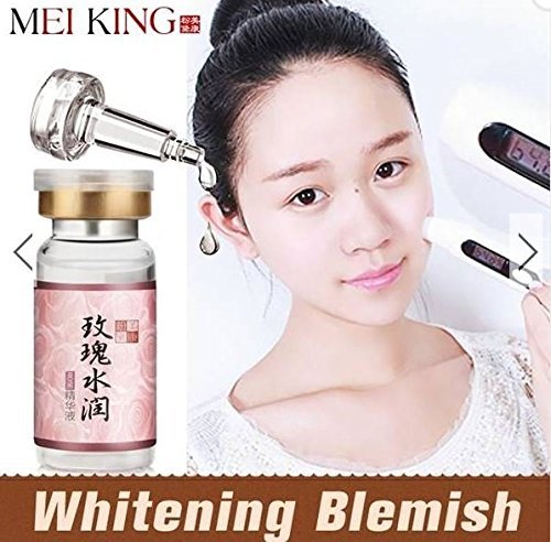 MEIKING Rose Watery Essence Whitening Moisturizing Skin Care 10ml by (Skin Whitening Tea)