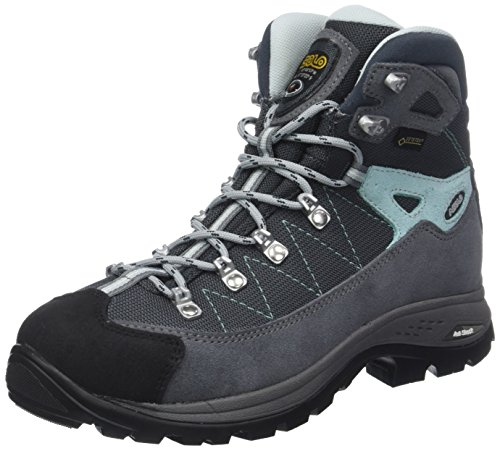 Hiking Finder Side High Gunmetal Asolo ml Gv Pool Shoes Women's Rise Grey 16SaxF
