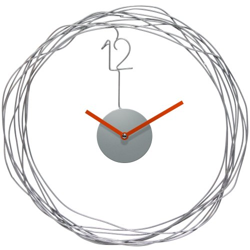 51BOCSB0%2B6L - Infinity Instruments Wire Transfer Wall Clock