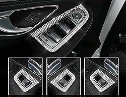 Genuine Austrian Crystal Window Switch Cover Frame