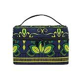 Cosmetic Case Bag Africa Art Nation Custom Portable Travel Makeup Bag Toiletry Organizer