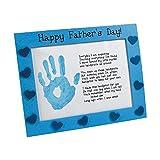 Wooden Father's Day Handprint Frame Craft Kit - Crafts for Kids & Novelty