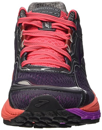 Brooks Ghost 8 W, Zapatillas de Running para Mujer Anthracite/Purple Cactus Flower