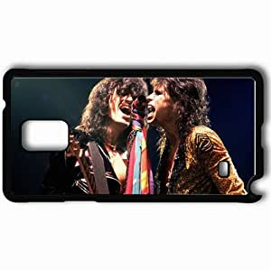 Personalized Samsung Note 4 Cell phone Case/Cover Skin Aerosmith 17323 Black