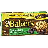 Bakers German Chocolate Bar 4 Oz