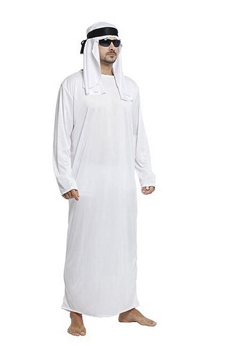 disabilità strutturali cerca il più recente vendita outlet Costume di Carnevale da Uomo Arabo Adulto: Amazon.it: Giochi ...