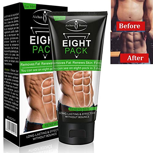 Slimming cream, unisex muscle abdominal muscle tightening creams, waist, abdomen and perfectly trained buttocks for…