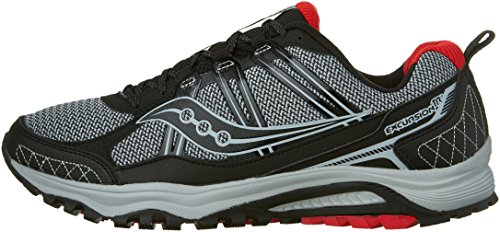 Saucony Excursion TR10 Wide Men 8 Grey | Black | Red by Saucony (Image #5)