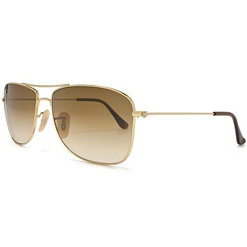 c14277278a ... sweden ray ban caravan sunglasses arista gold brown rb3477 001 51 59  d18f1 89ed6