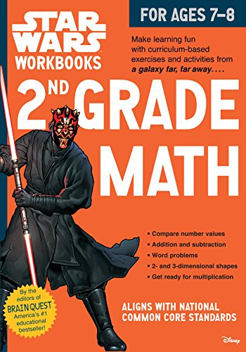Star Wars Workbook: 2nd Grade Math (Star Wars Workbooks) ()