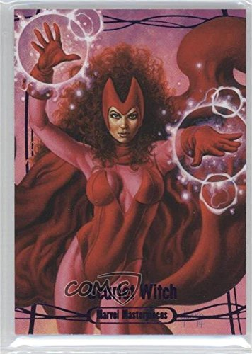 Scarlet Witch #47/199 (Trading Card) 2016 Upper Deck Marvel Masterpieces - [Base] - Epic Purple #48