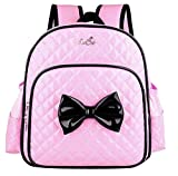 Fanci Toddler Kids Schoolbag Girls Bowknot Backpack Cuddly Daypack Kindergarten School Rucksack Bag