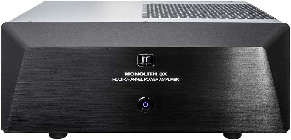 Monoprice Monolith 9 Channel Multi-Channel Home Theater Power Amplifier with XLR Inputs (3x200 Watts + 6x100 Watts)