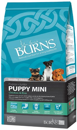 Burns Mini Chicken & Rice Puppy Food 12Kg