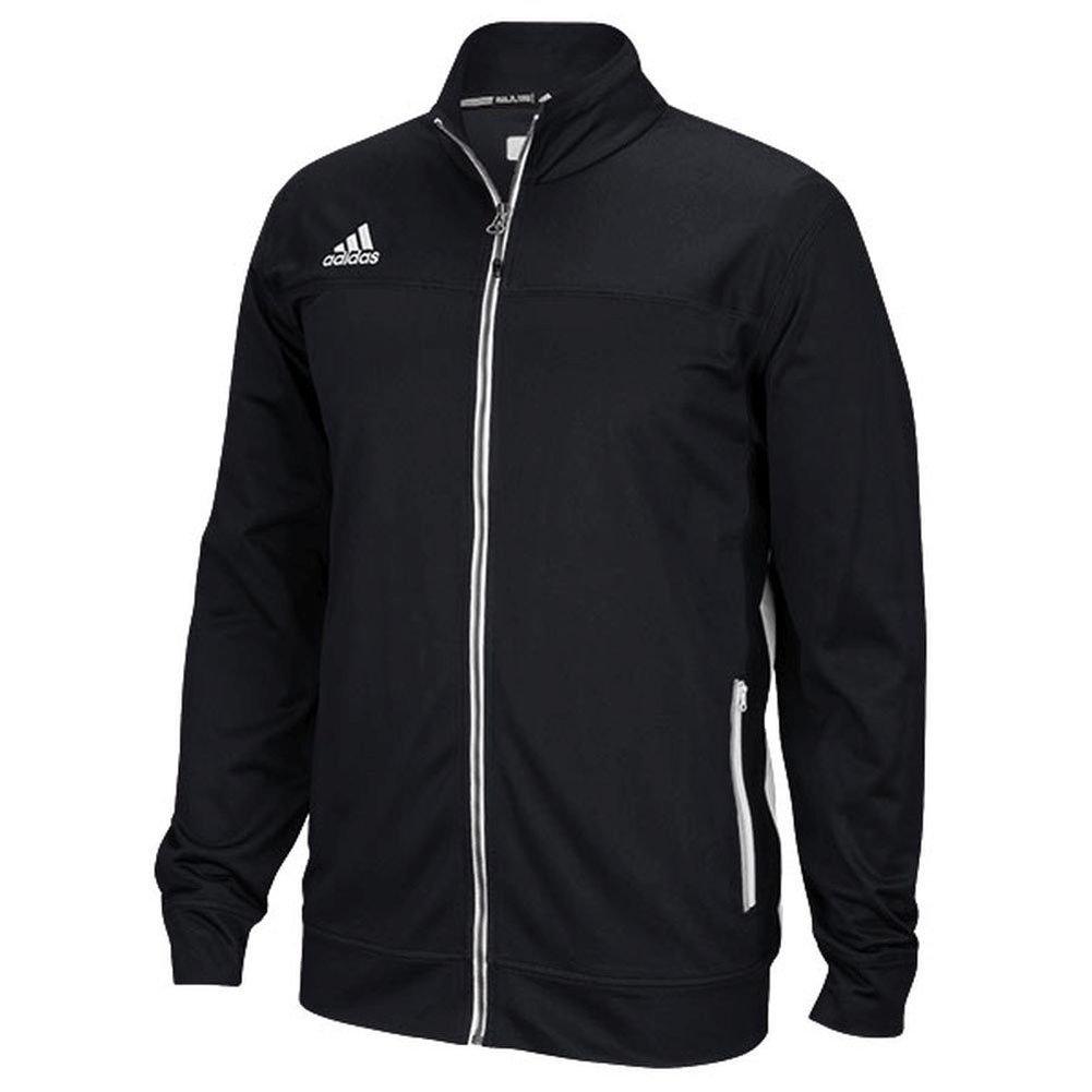 Adidas Mens Climalite Utility Jacket 4XLT Black-White