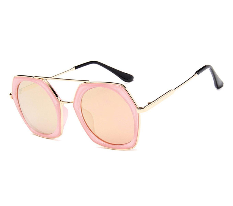 Wer Bin Ich Der Neue Trend Der Großen Box Mode Bunte Quecksilber Reise Fahren Sonnenbrille Im Freien,Blue