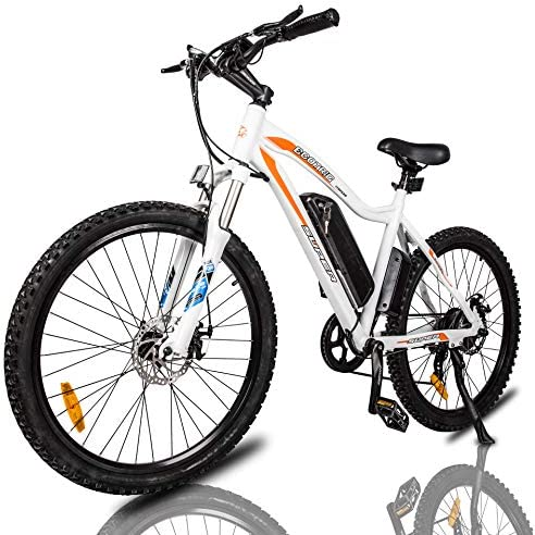 ECOTRIC Mountain EBike Electric Bicycle Bike 26 Alloy Frame with 500W Powerful Motor 36V 13Ah Lithium Suspension Fork