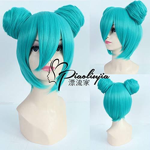 FidgetGear Hatsune Miku Bun Costume Party Wig Heat Resistant Z218