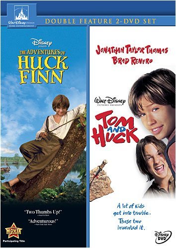 DVD : The Adventures of Huck Finn / Tom and Huck (2 Disc)