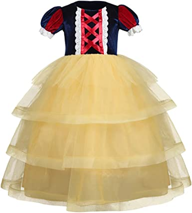 K-Youth Disfraz de Princesa Blancanieves Disfraces Elsa Belle ...