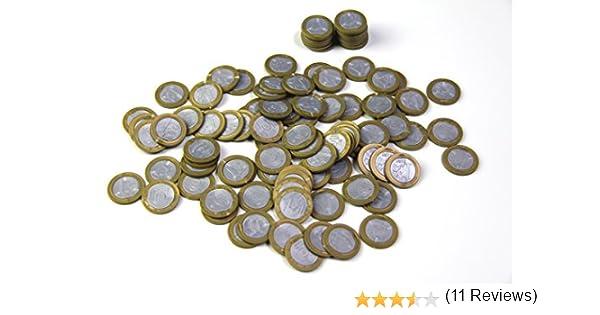 1 Euro 100 St. monedas dinero parte Dinero €: Amazon.es: Oficina y ...