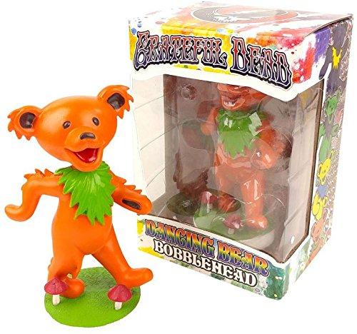 Kollectico DB6O Grateful Dead Dancing Bear Bobblehead, Orange