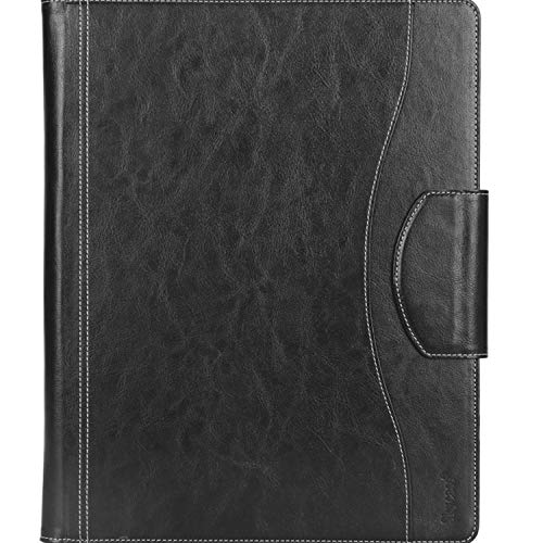 Portfolio Padfolio Case, Skycase Business Portfolio Folder, Resume/Conference/Legal Document Organizer with Letter/A4 Size Clipboard, Business Card Holders, Document Sleeve, Black Photo #2