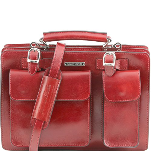 81412694 - TUSCANY LEATHER: TANIA grand - Sac à main en cuir, rouge