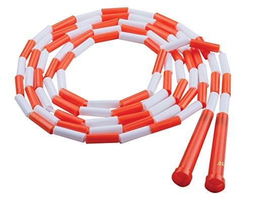Champion Sports PR10 Plastic Segmented Jump Rope, 10']()