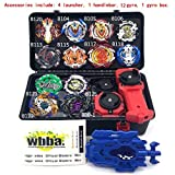5billion 1set 13 Style Beyblade Burst B-00 B-122 Metal Fusion 4D with 4 Launcher Beyblade Burst Spinning Top for Kids Toys