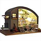Rylai 3D Puzzles Wooden Handmade Dollhouse Miniature DIY Kit - Time Travel Series Dollhouses & Furniture( 1:18 Scale Dollhouse)