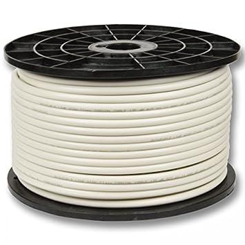 PremiumX cable coaxial 130 db 4-capas, Cobre-acero 100 m vía cable