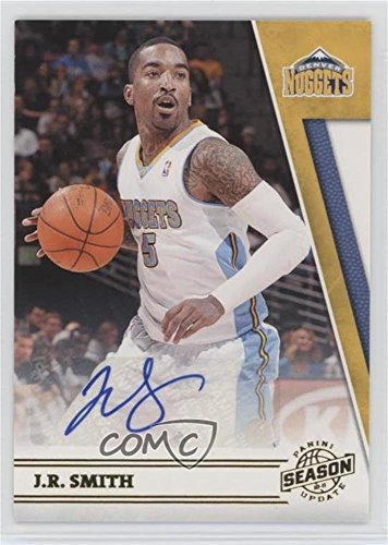 Autographed Basketball Card - J.R. Smith #239/299 (Basketball Card) 2010-11 Panini Season Update - [Base] - Signatures [Autographed] #134